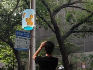 Agilizar el tráfico en la ciudad de Chicago cuantificando peatones.